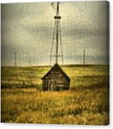 Prairie Pump Canvas Print