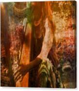 Praise Him With The Harp II Canvas Print