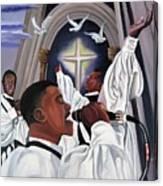 Praising God Canvas Print