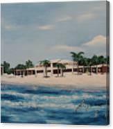 Praminade At Lido Beach Canvas Print