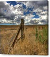 Prarie Sky Canvas Print