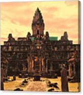 Prasat Bakong Temple I Canvas Print