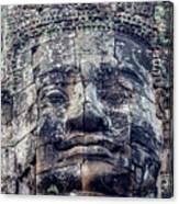 Prasat Bayon Stone Face  Canvas Print
