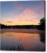 Prat Pond Morning Canvas Print