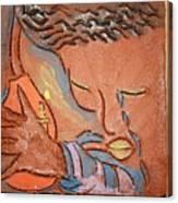 Prayer 28 - Tile Canvas Print