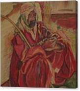 Prayer At Benghazi Canvas Print