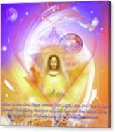Prayer Blessing Canvas Print