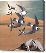 Prayer Flight Canvas Print