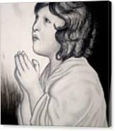 Prayer Is The Master-key Canvas Print