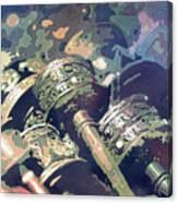 Prayer Wheels- Nepal Canvas Print