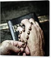 Praying For A Change Canvas Print