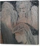 Praying for Daniel Canvas Print