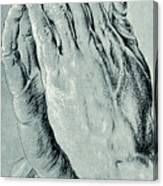 Praying Hands, Also Known As Study Of The Hands Of An Apostle  Canvas Print