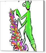 Praying Mantis   The Good Guy Canvas Print