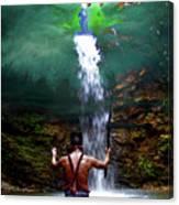 Praying To The Spirits Canvas Print