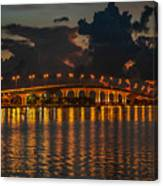 Pre-dawn Causeway View Canvas Print