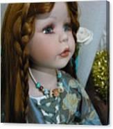 Pre Raphaelite Doll  Canvas Print