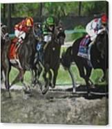 Preakness 2010 Horse Racing Canvas Print