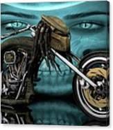 Predator Chopper Canvas Print