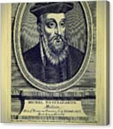Predictions Of Nostradamus 4 Canvas Print