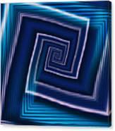 Predominantly Blue Canvas Print