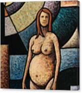 Pregnant Canvas Print