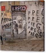 Prego Canvas Print