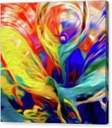 Premorphationism Glass Canvas Print
