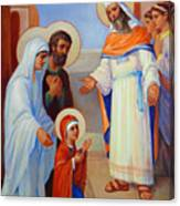 Presentation Of Mary In The Temple  Canvas Print