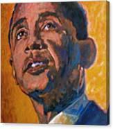 President Barack Obama Canvas Print