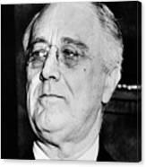 President Franklin Delano Roosevelt Canvas Print