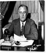 President Franklin Roosevelt Canvas Print