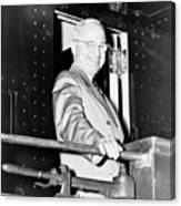 President Harry Truman Canvas Print