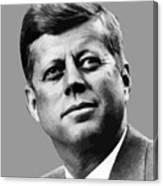 President Kennedy Canvas Print