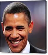 President Obama IIi Canvas Print
