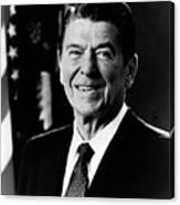 President Ronald Reagan Canvas Print