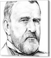 President Ulysses S Grant Canvas Print