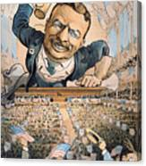 Presidential Campaign, 1904 Canvas Print