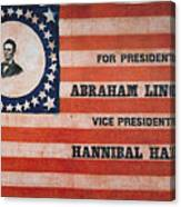 Presidential Campaign, Canvas Print