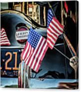 Presidential Car Canvas Print