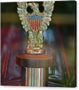 Presidential Hood Ornament Canvas Print