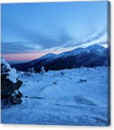 Presidential Range - White Mountains  New Hampshire Usa Canvas Print