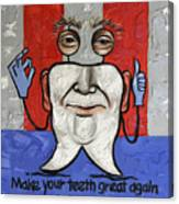 Presidential Tooth 2 Canvas Print