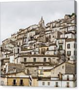 Pretoro - An Ancient Village  Canvas Print