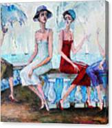 Pretty Girls Canvas Print