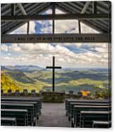 Pretty Place Chapel - Blue Ridge Mountains Sc Canvas Print