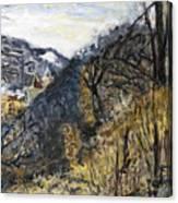 Pribeh - 1 Canvas Print