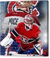 Price Phone Cover 2 Canvas Print