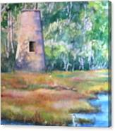 Price's Creek Light Canvas Print