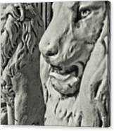 Pride Of Lions Canvas Print